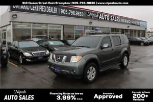 2006 Nissan Pathfinder 4X4,LEATHER!!!7 Passengers!!!!One Owner!!