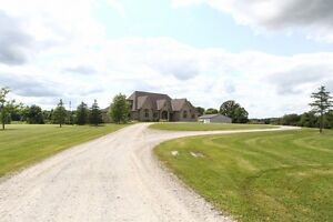 10 Acres with ICF HOME and HUGE SHOP CLOSE TO KITCHENER-WATERLOO