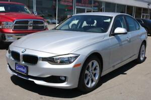 2014 BMW 320i,BLUETOOTH,AUX,USB,CERTIFIED 1-OWNER ONTARIO CAR