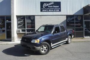 2003 FORD EXPLORER SPORT TRAC XLT**LEATHER**SUNROOF**4x4**