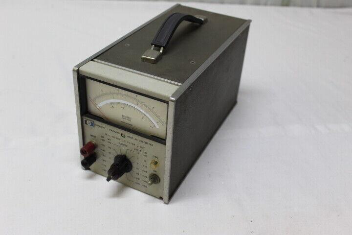 HP Hewlett Packard 400F AC Voltmeter