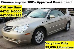 2008 Chrysler Sebring AUTO Touring Convertible FINANCE 99,850 km