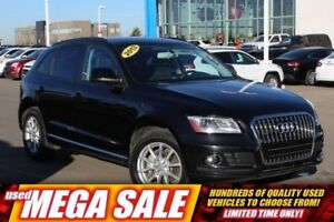 2013 Audi Q5 2.0T Quattro| Pwr Heat Leath| Rem Entry| BT| Fog