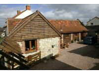 4 Bedroom Barn Conversion Family Home close to Junction 23 M5 Somerset
