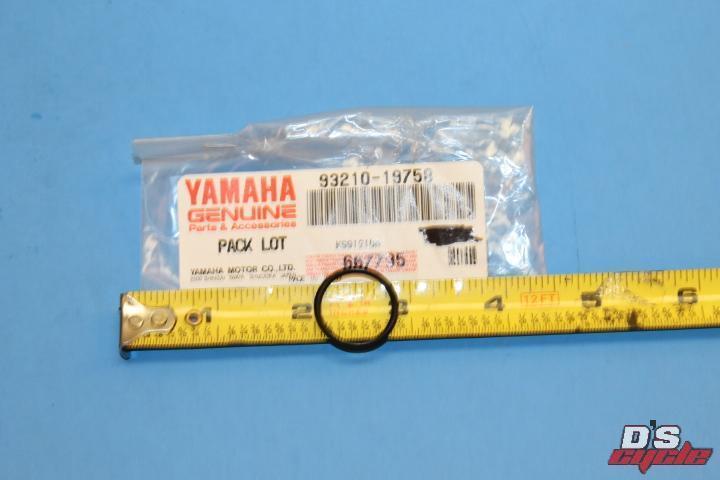 OEM Yamaha 93210-19758-00 O-Ring Qty 2 NOS
