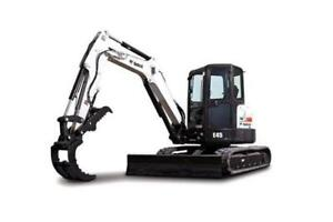 2014 Bobcat E45 Mini Excavator, only 1340 Hours