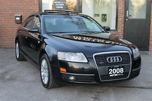 2008 Audi A6 3.2L Quattro AWD *NO ACCIDENTS, CERTIFIED, WARRANTY