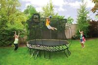 We are Springfree Trampoline!  Buy Direct from the Manufacturer!