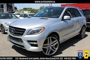 2012 MERCEDES ML350 BLUETEC 4X4 NAVIGATION, XENON, CAMERA, TOIT