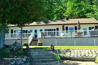 Fall Lakeside Cottage Rental