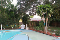Newly furnished vacation pool home near Clearwater, Florida
