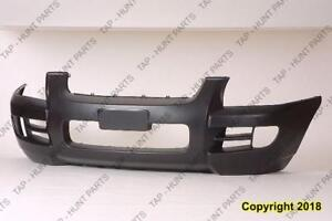 Bumper Front Primed Without Luxury Package Kia Sportage 2005-2008