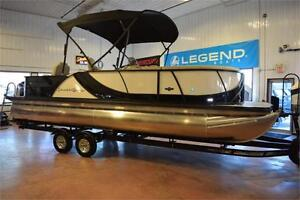 GREAT SELECTION OF SOUTHBAY AND LEGEND PONTOON BOATS !!!!