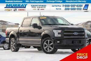 2015 Ford F-150 Lariat 4WD*NAV SYSTEM,SUNROOF,REAR SONAR*