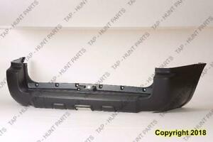 Bumper Rear Primed With Trailer Hitch Toyota 4Runner 2006-2009
