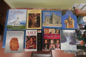 Books on History and Art  - most are hard cover