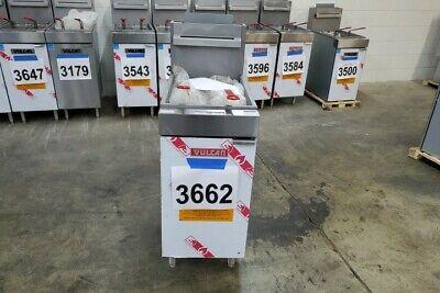3662 - New Sd Vulcan 35-40 Lbs Capacity Deep Fryer Natural Gas Modellg300-1
