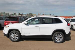 2016 JEEP CHEROKEE LIMITED 0% 84  MONTHS  O.A.C.  16CH4799
