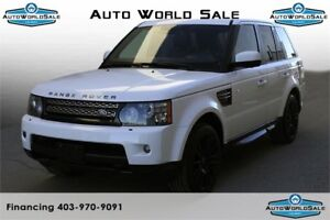 2012 LAND ROVER RANGE ROVER HSE WHITE|TECH PACK