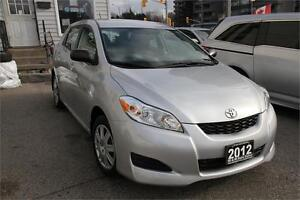 2012 Toyota Matrix *LOW KM*