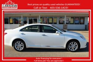 2011 Lexus ES 350 LOW KM'S LUXURY 2 set tires & Rims