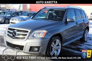 2010 MERCEDES GLK350 4MATIC BLUETOOTH,CUIR CHAUFF,CLEAN CARPROOF