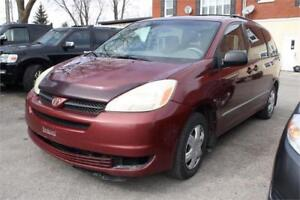 2004 TOYOTA SIENNA 8-PASSAGERS TPS-INCLUSE