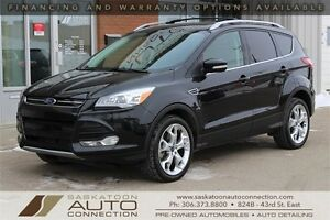 2013 Ford Escape TITANIUM ** AWD ** LEATHER ** NAV ** MOONROOF *