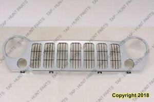 Grille Chrome With Fog Jeep Liberty 2005-2007