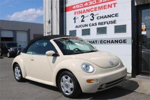 2004 Volkswagen New Beetle Convertible GLX turbo