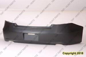 Bumper Rear Primed Coupe Honda Accord 2008-2012
