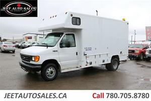 2004 Ford E450 Service van, Propane heated, Lots of cabinets