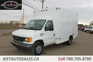 2006 Ford Econoline Cutaway with Service Cabinets