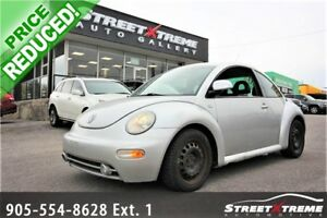 2000 Volkswagen New Beetle GLS   LEATHER   HEATED SEATS   A/C