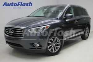2014 Infiniti QX60 Tech-Pkg *Camera 360 *GPS *Toit-Roof