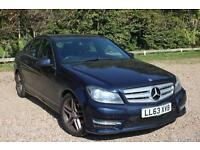 2013 MERCEDES BENZ C CLASS C220 CDI BlueEFFICIENCY AMG Sport Auto