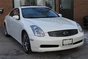 2006 Infiniti G35 Coupe Sport *No Accidents, Certified, 129KM*