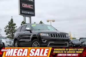 2015 Jeep Grand Cherokee Limited V6 4WD| Sun| Heat Leath| Pwr Lg