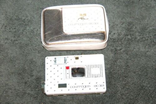 Courreges ac 301 gold disc camera and case