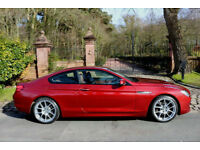 2012 BMW 640 DIESEL COUPE 69,986 MILES FBMWSH PRO SAT NAV 20'' ALLOYS