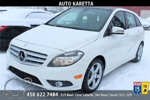2013 MERCEDES-BENZ B250 TOIT PANORAMIC, BLUETOOTH, CUIR, MAGS
