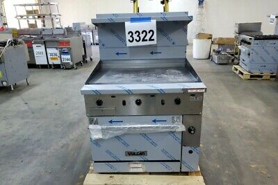 3322 New Sd Vulcan 36 Range With 36 Thermostat Griddle Oven Model 36s-36gtn