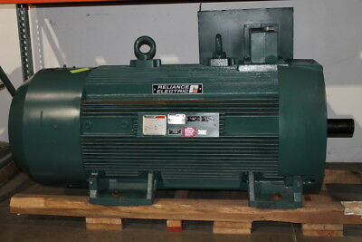 500HP 900RPM - RELIANCE ELECTRIC VAM7246606-001-A1-MJ NSNB - 500 HP INVERTER MOT