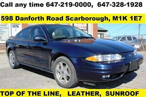 2001 Oldsmobile Alero GLS AUTO LEATHER SUNROOF E-TESTED MINT