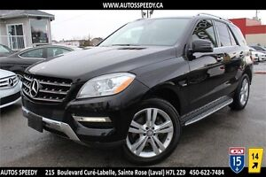 2012 MERCEDES ML350 BLUETEC 4X4 NAVIGATION/CAMERA/TOIT PANORAMIC