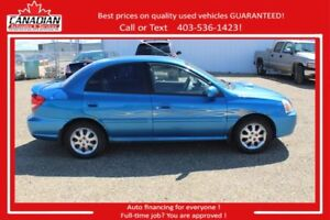 2004 Kia Rio LS AS IS SALE NO FINANCING AVAILABLE
