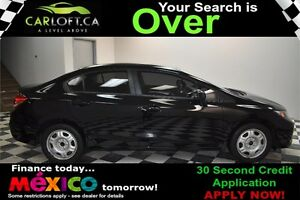 2013 Honda Civic EX - LOW KMS**SUNROOF**BACKUP CAMERA