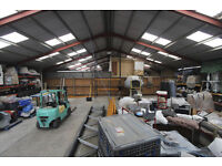 Warehouse and Integral Office Space for rent