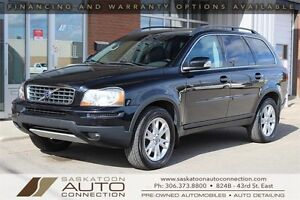 2007 Volvo XC90 AWD ** LEATHER ** MOONROOF ** LOW KM **