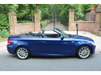 10 PLATE BMW 123d M SPORT AUTOMATIC CONVERTIBLE 36,969 MILES STUNNING